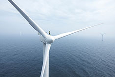 Offshore-Windpark zum Thema Energiewende; Quelle: ABB